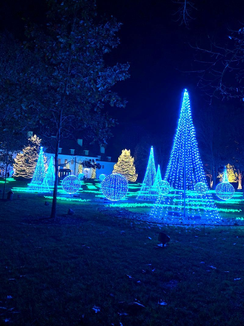 Winterlights at Newfields. Indianapolis Christmas Events
