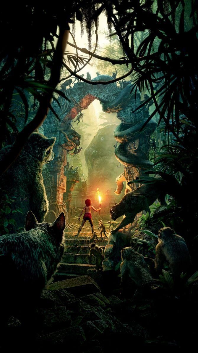 Tarzan (1999) Phone Wallpaper in 2020 Jungle book 2016