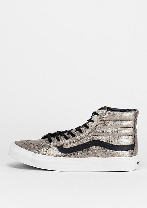 42c97d482d470e VANS Schuh Sk8-Hi Slim Metallic Leather bronze blk - Schuhe