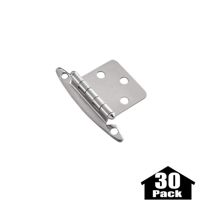 Hickory Hardware P139-30PACK Surface Cabinet Hinge - 30 Pack ...