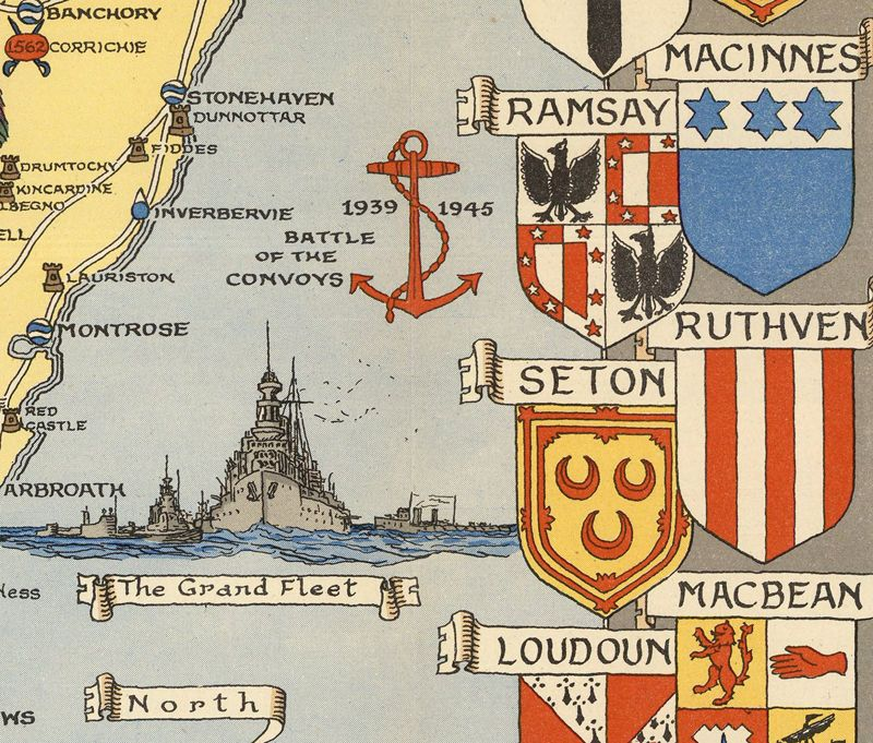 Clan map of scotland 1930 google search family stuff pinterest clan map of scotland 1930 google search gumiabroncs Images