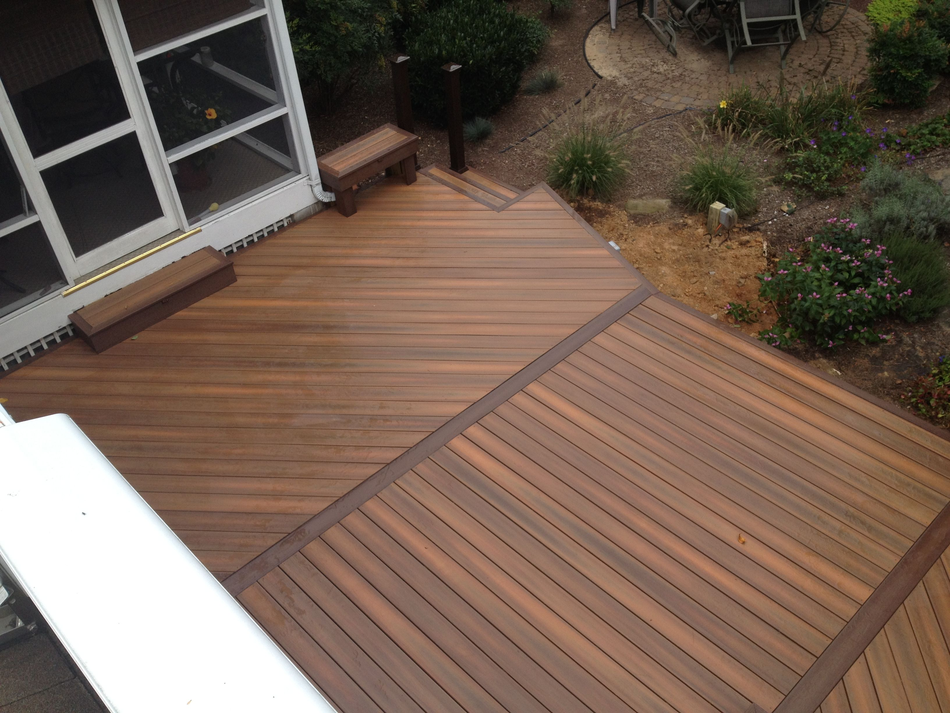 fiberon horizon ipe deck decks pinterest decks
