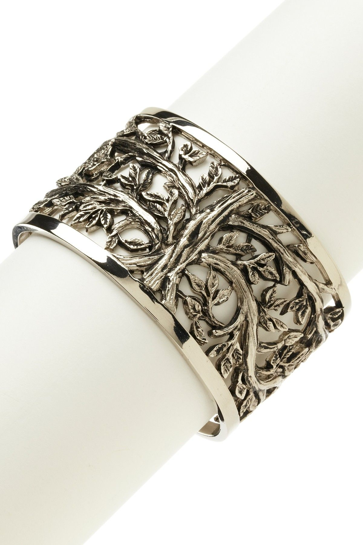 Skova Design: Tree of Life Cuff.  I want!