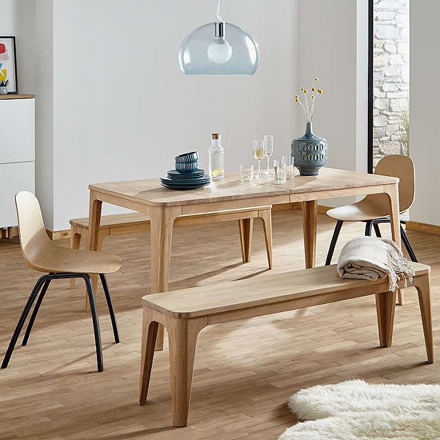 Ebbe Gehl For John Lewis Mira 4 8 Seater Extending Dining Table Natural In 2020 Contemporary Dining Table Extendable Dining Table 6 Seater Dining Table