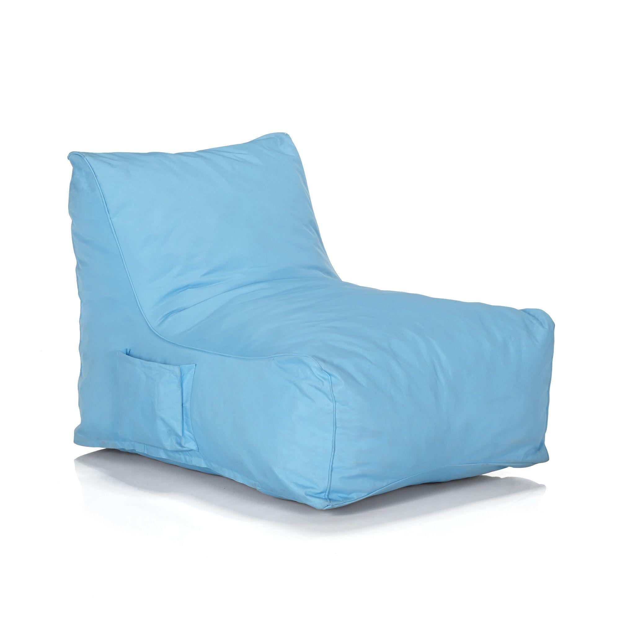 Fauteuil pouf bleu Bleu Amalia Les fauteuils de jardin Les