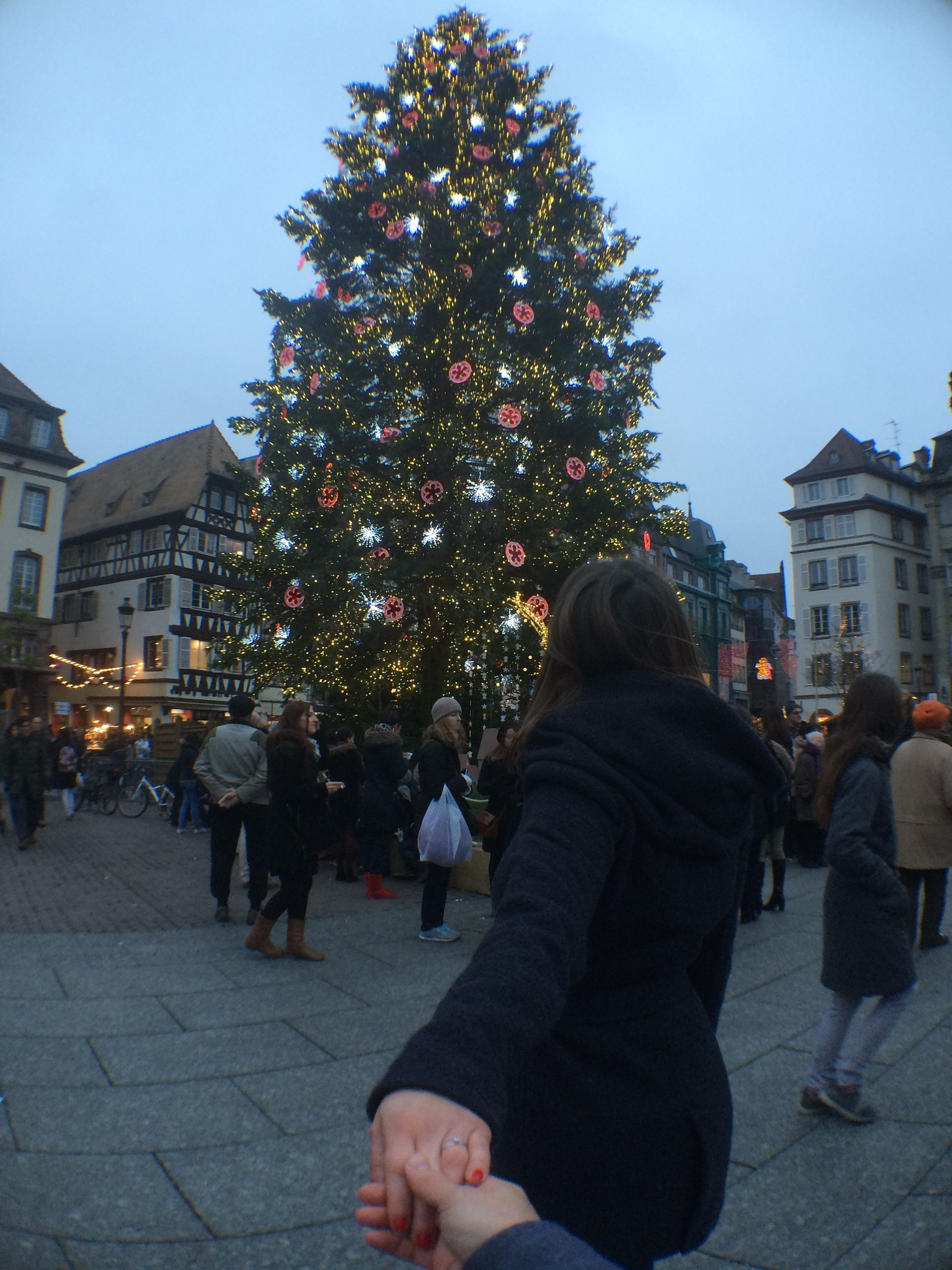 Le Marché de Noêl de Strasbourg, Alsace. (29.11.14)