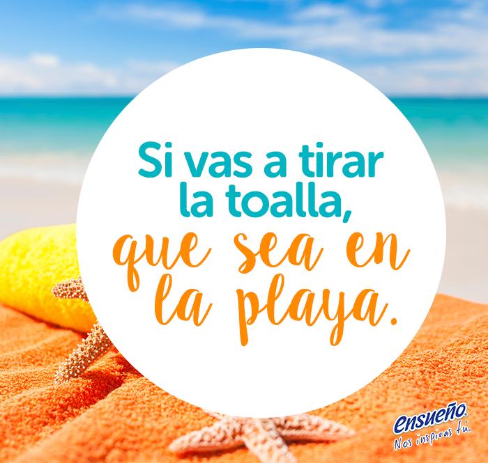 Porque En El Mar La Vida Es Mas Sabrosa D Playa Mar Arena Sol Frases Ensueno Humor Beach Signs Beach Ocean