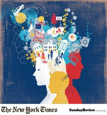 «The New York Times», Sunday Review #illustrations