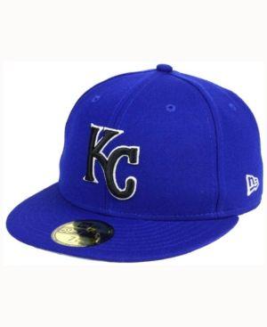 New Era Kansas City Royals Classic Gray Under 59FIFTY Cap - Blue 7