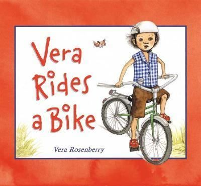 Vera Learns To Ride Her New Bicycle But She Has A Little Trouble