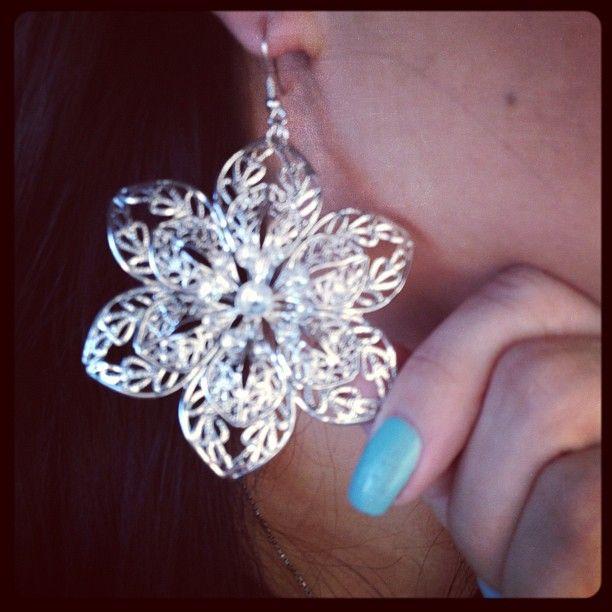 Diamond Rings For Sale Walmart: Love These HUGE Flower Earrings From Walmart On Sale For