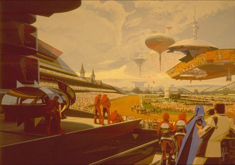 """Rare Opportunity To See Syd Mead Paintings In NYC  Film lovers—sci-fi fans in particular—are surely familiar with the work of """"Futurist Designer"""" Syd Mead,   —at BravinLee gallery in Chelsea offers a fascinating look at his work in a fine art context.    More information:  http://www.tiny9.com/u/core77  Copyright © Core77    Read and Enjoy: Reggie and the Staff at Dixie At Supplies"""