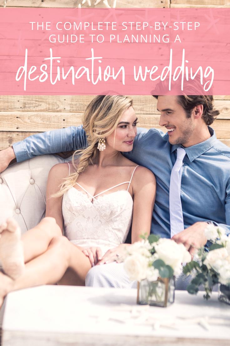 How to Plan a Destination Wedding StepbyStep Guide