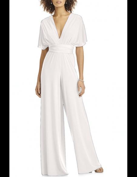 Convertible Jumpsuit Infinity Bridesmaid jumpsuit / Jumper #bridesmaidjumpsuits