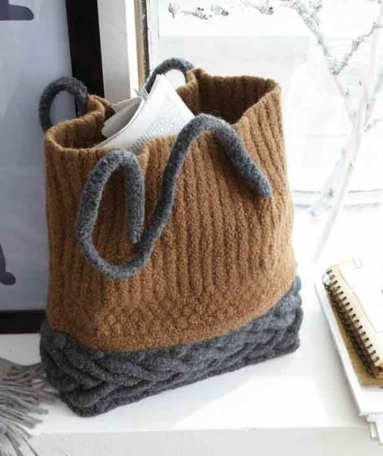 Normally Not A Huge Fan Of Felted Bags But Theyre So Much Classier