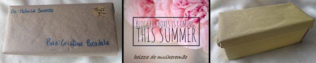 BELEZA DE MULHER E MÃE!!: a minha Blogger Box,,,