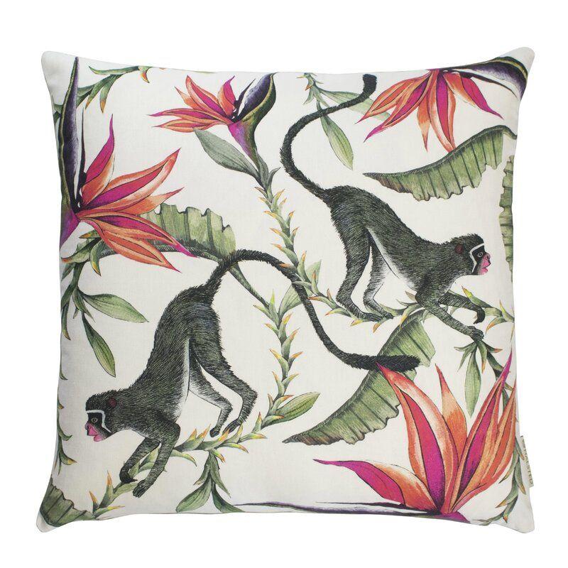 Ardmore Cotton Floral Throw Pillow Floral Throw Pillows Silk Throw Pillows Throw Pillows