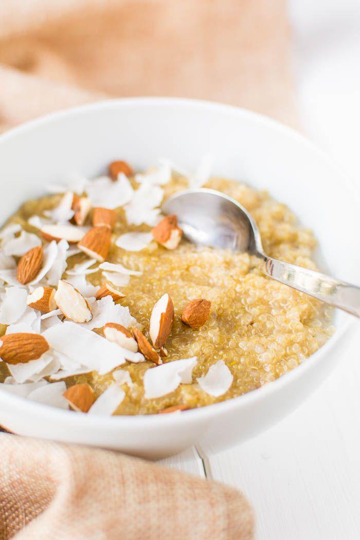 Photo of Sweet quinoa breakfast porridge: basic recipe