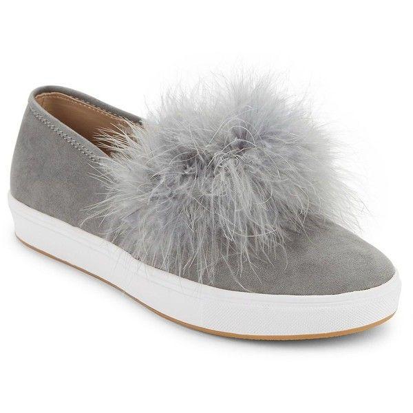 Steve Madden Emily Pom Pom Sneakers
