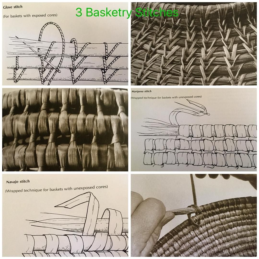 """94 Likes, 7 Comments - Judith (@raffia_mad) on Instagram: """"3 basketry Stitches and photos ♀️ #examples #stitching #slowart #natural #vstitch #glovestitch…"""""""