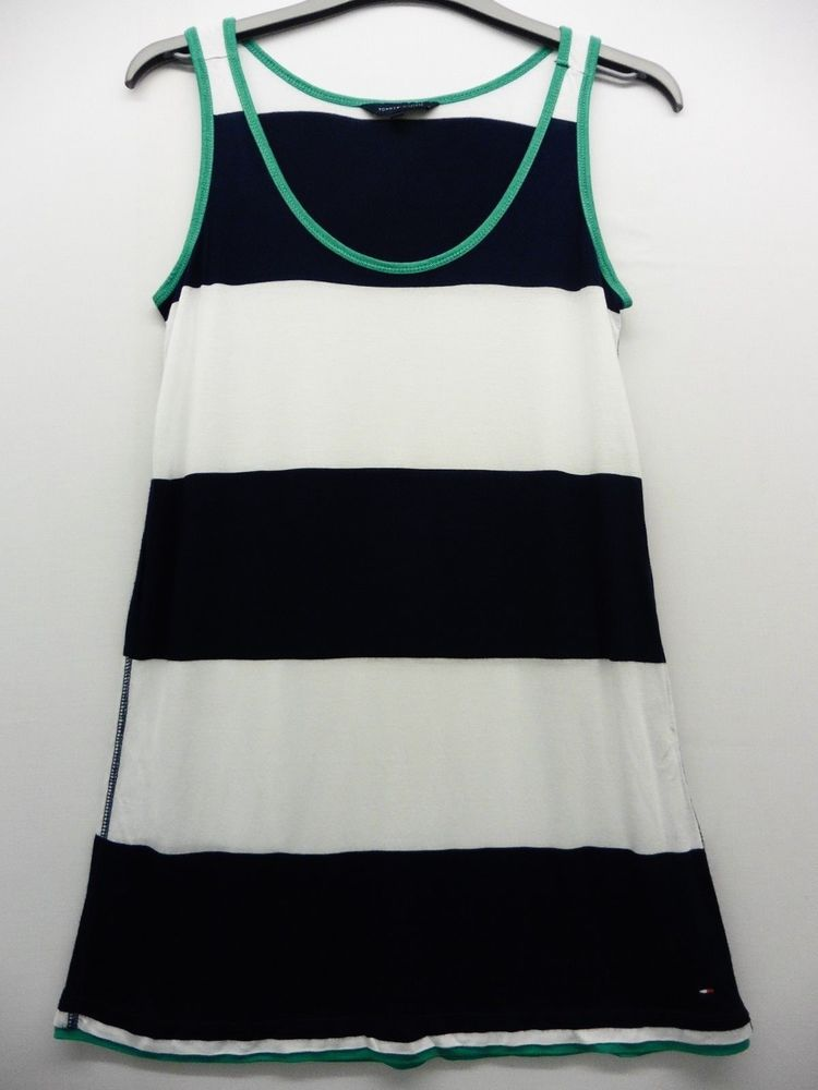 bebb767f7448 TOMMY HILFIGER LADIES NAVY   WHITE STRIPE VEST TOP SIZE S UK 8 REF 19   fashion  clothing  shoes  accessories  womensclothing  tops (ebay link)