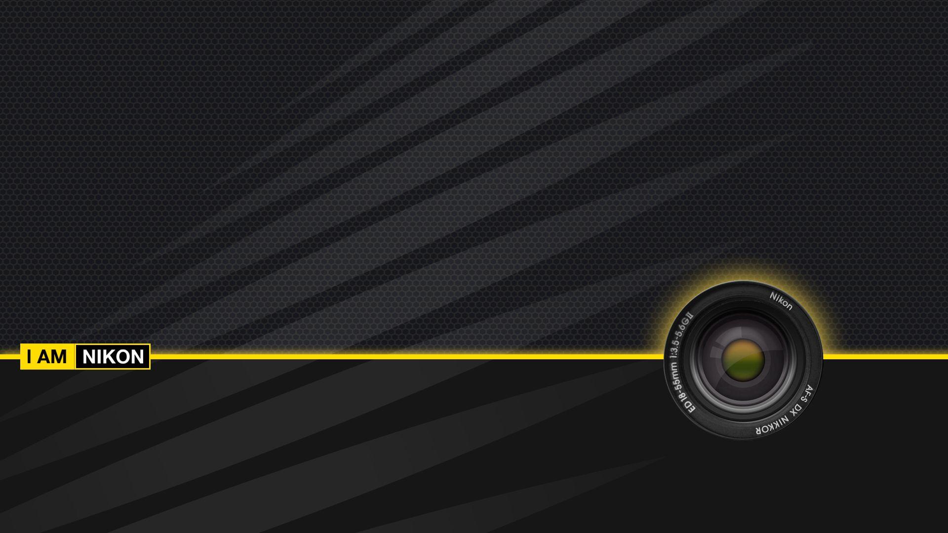 Nikon Wallpaper 1 Jpg 1920 1080 Logo Background Picture Logo