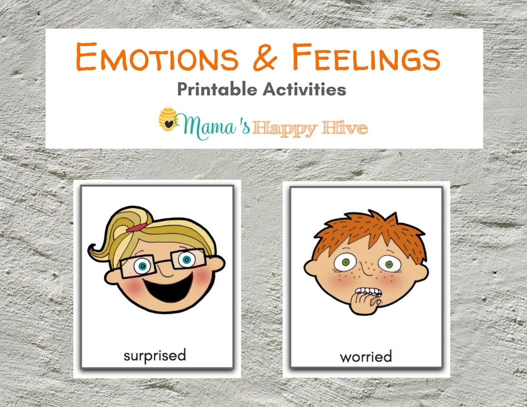 Learning About Emotions And Feelings And Includes A