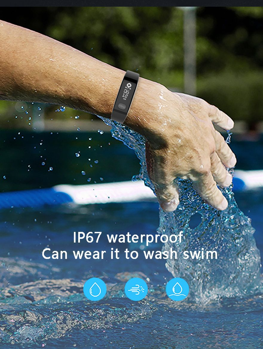 E29 ECG Smart Bracelet Blood Pressure Blood Oxygen Sleep