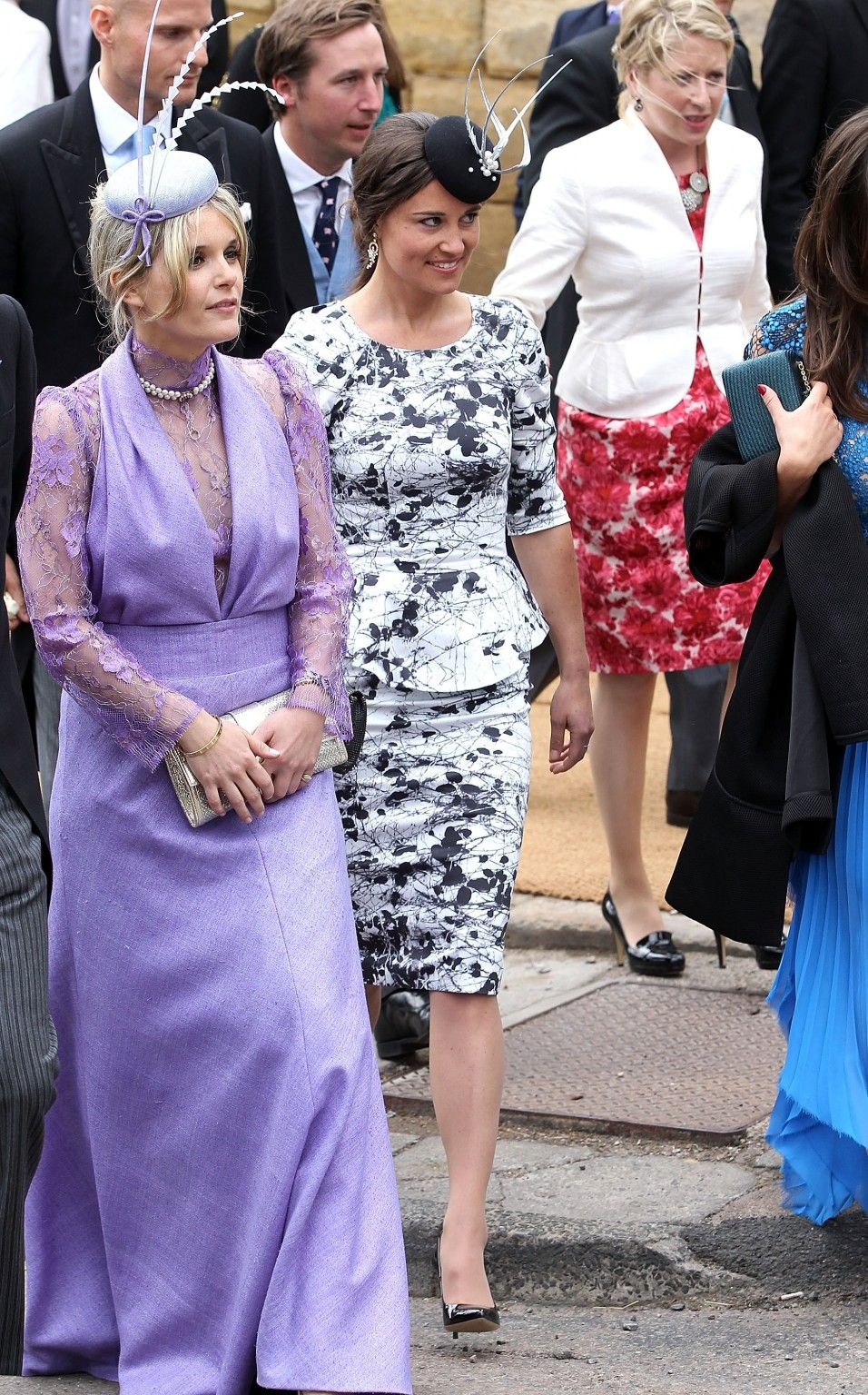Pippa Middleton At Lady Melissa Percy S Wedding