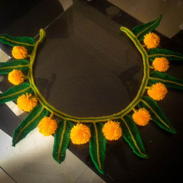 Indian Bunting Diy Diwali Decorations Rangoli Designs Flower