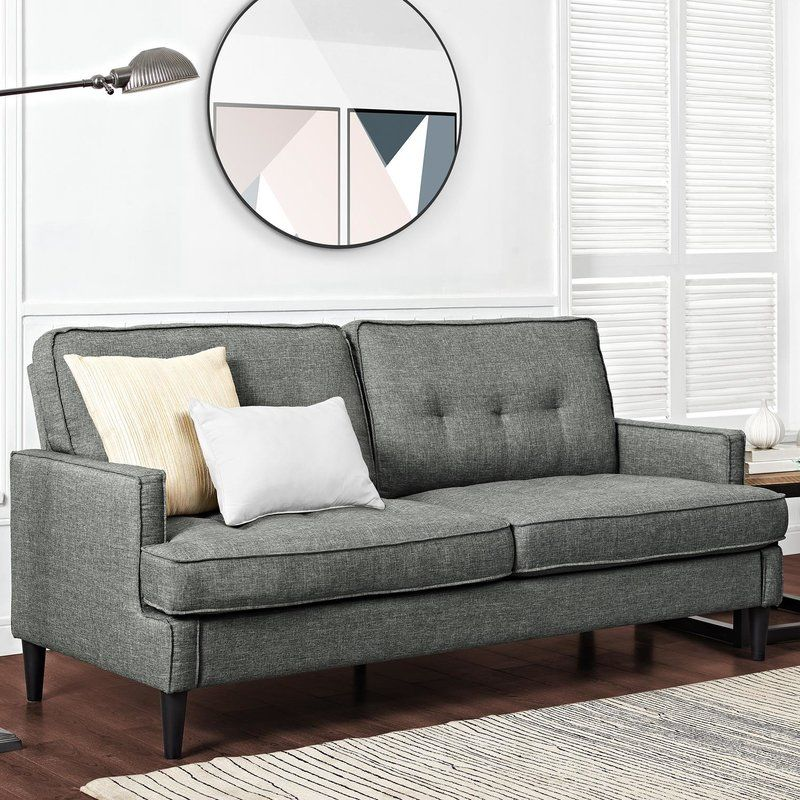 Celestyna Sofa 72 Allmodern 380 Lt Grey Cheap Couch Cheap Sofas Affordable Sofa