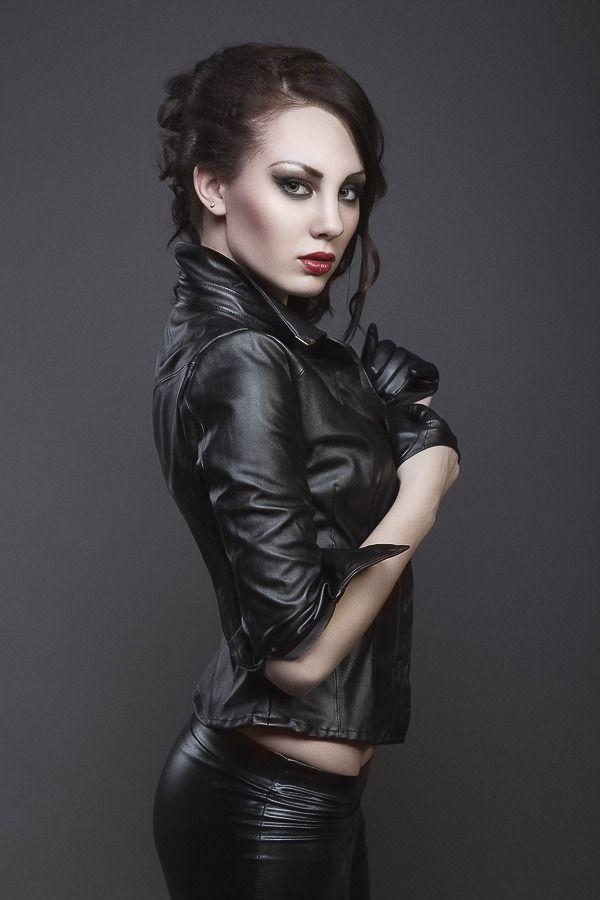 Bondage womens leather