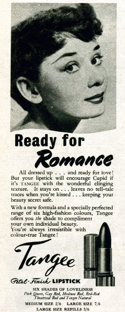 Tangee Lipstick, the first lipstick I was allowed at age 12.