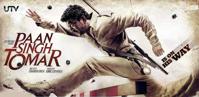 Image result for paan singh tomar poster