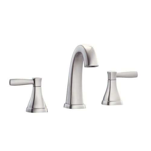 Clarice Brushed Nickel 8 Inch Widespread Bath Faucet