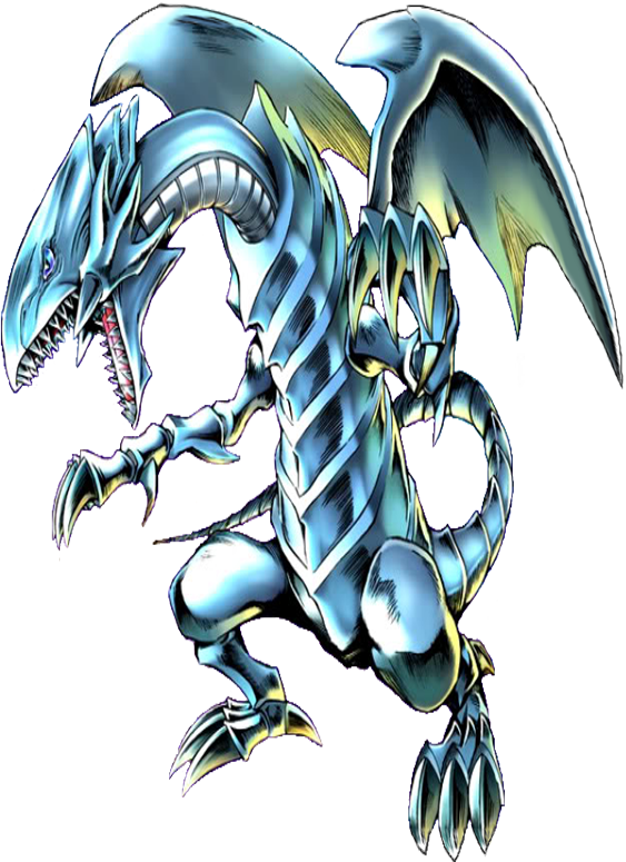 Blue Eyes White Dragon Animacao Anime Desenhos