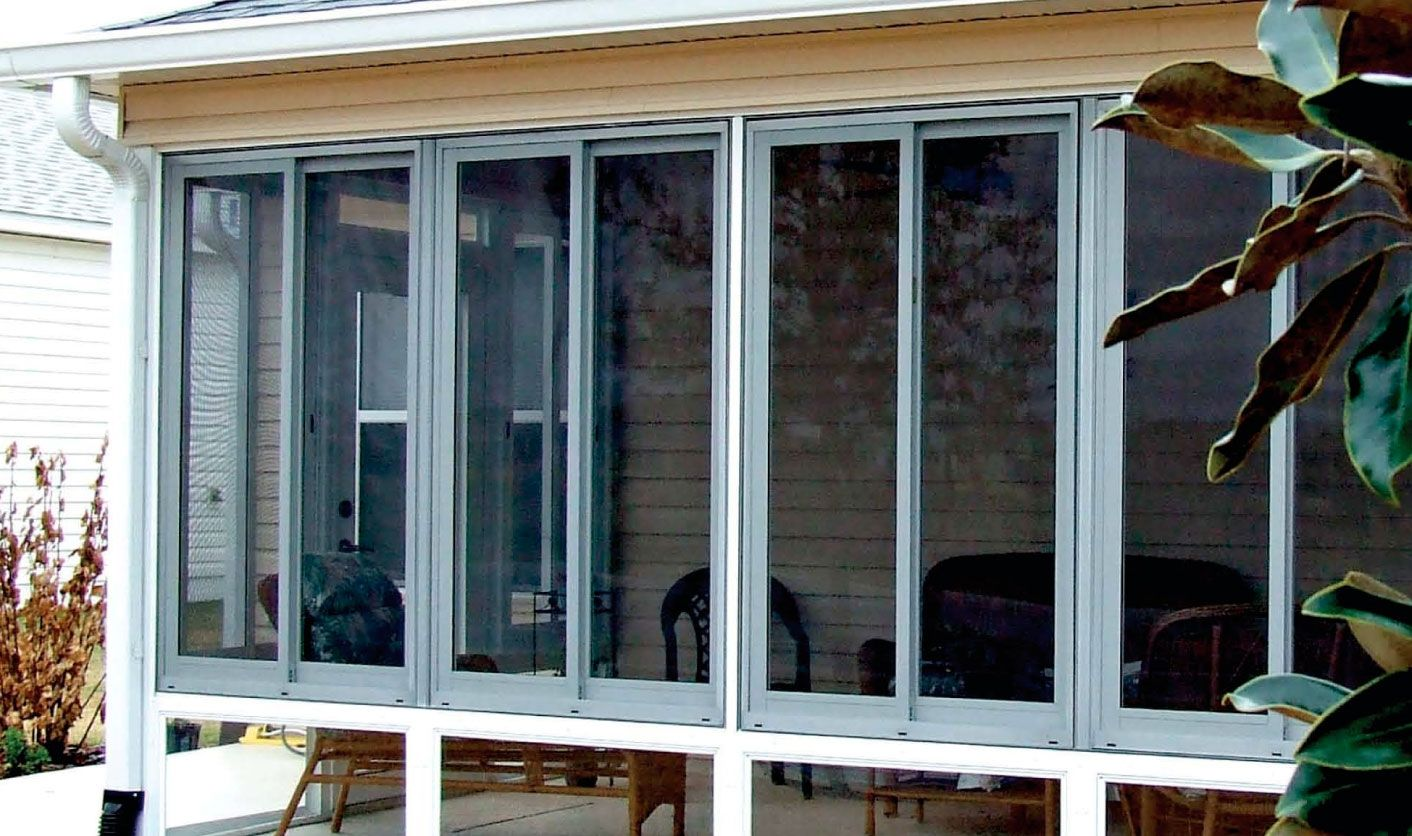 Enclose Porch With Sliding Glass Doors Porch Windows Building A Porch Enclosed Porches