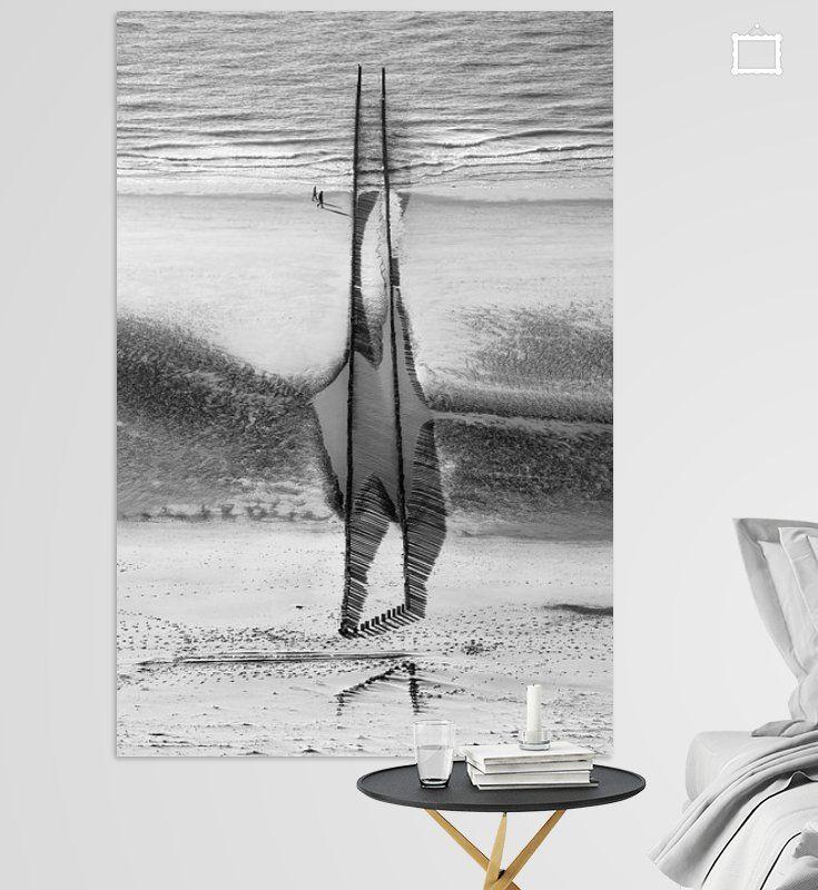Zu Lande und zu Wasser aus der Luft von Sonja Pixels auf Leinwand, Tapete und mehr
