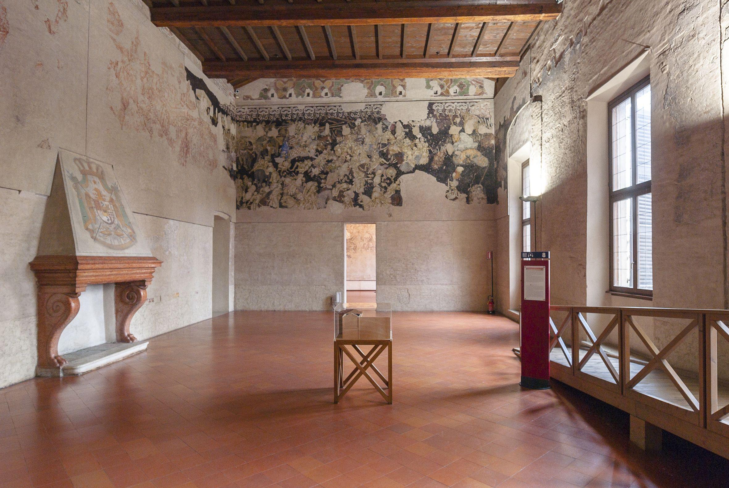 Sala del Pisanello (1436-1444).