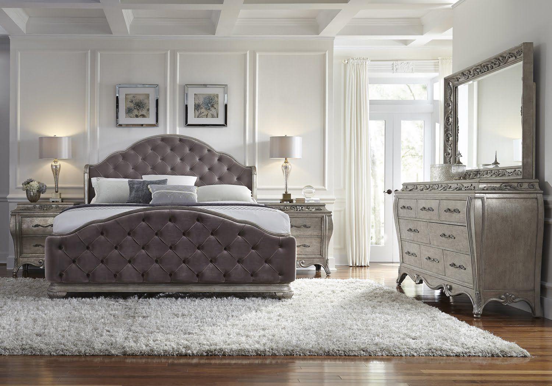 Glamorous Bedroom Furniture 9 Entracing Rhianna Glam Style ...