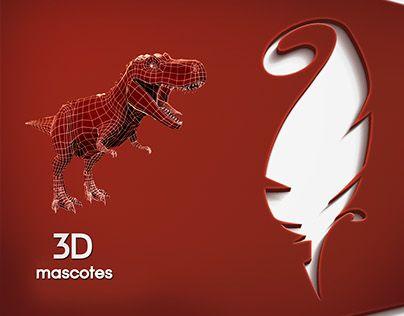 "Check out new work on my @Behance portfolio: ""3D - Mascotes""…"
