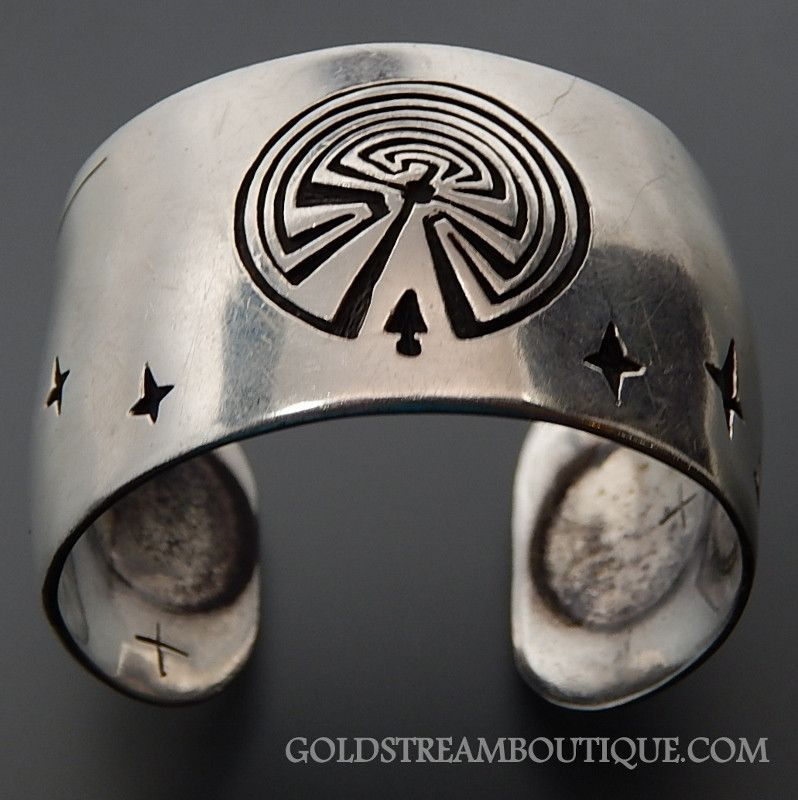 Native American Ames Fendenheim Papago Tohono Oodham 925 Silver