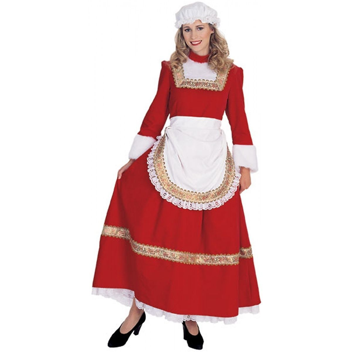 Claus Classic Mrs Christmas Female Santa Costume