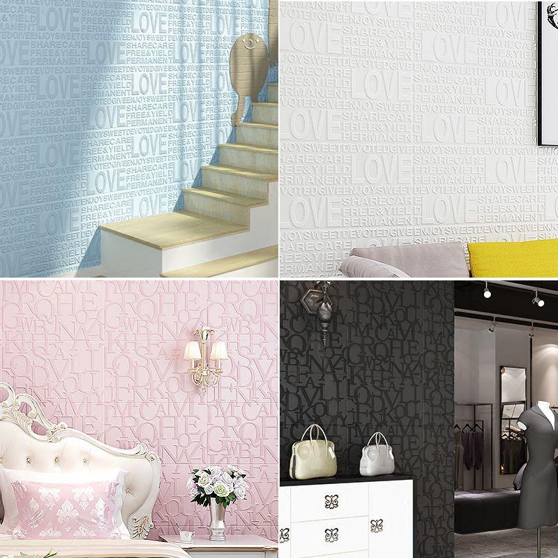 Love Text Wall Brick Design 3d Self Adhesive Pe Texture Foam Wall Wallpapers Coverings Foamwall 3dfoamwa Brick Design Brick Wallpaper Sticker Wall Coverings