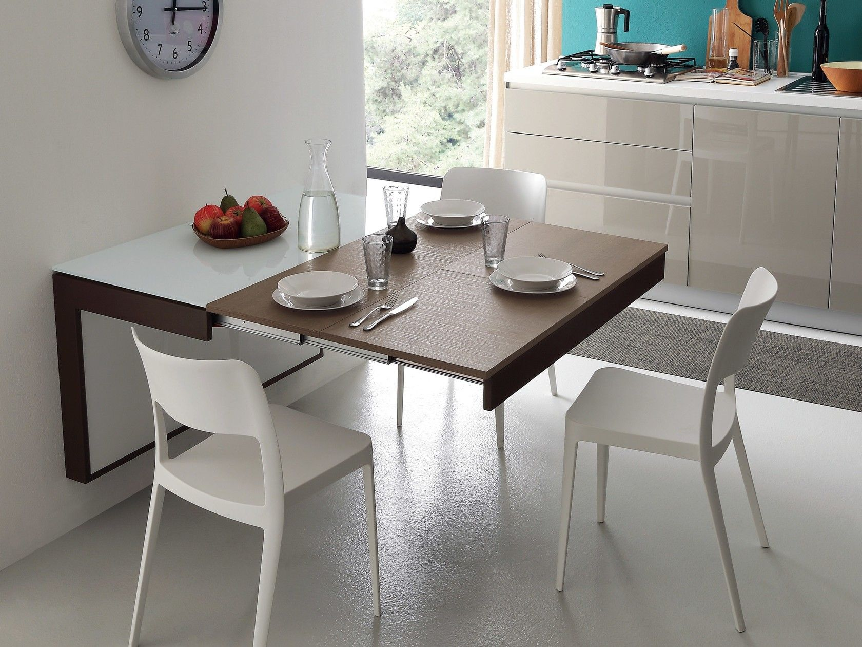 Wall Mounted Extending Kitchen Table Fortune By Ideas Group Wall