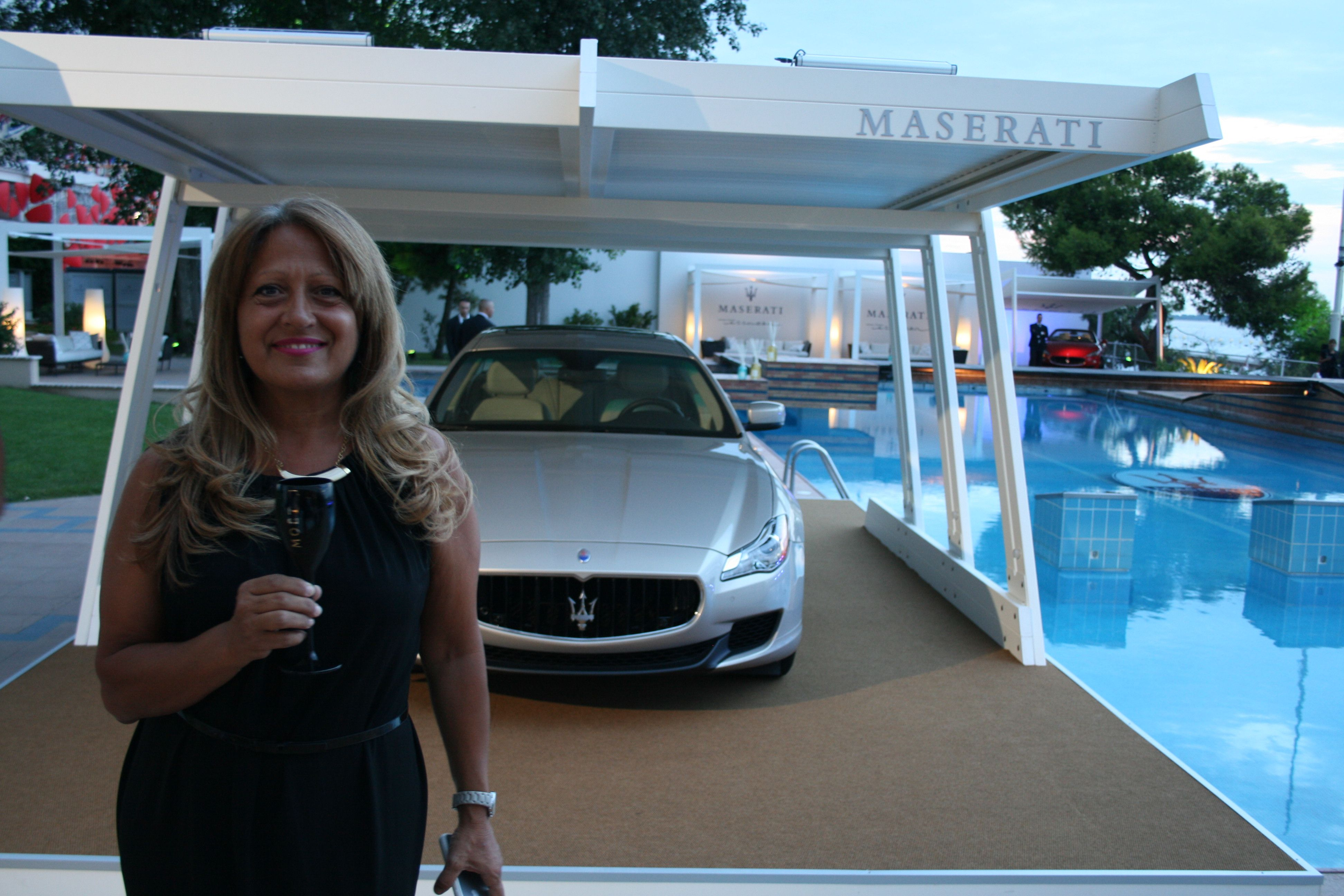Patrizia From Dr Vranjes Firenze At The Terrazza Maserati