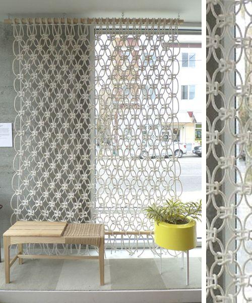 10 ideas para separar ambientes macram paneles - Paneles japoneses para separar ambientes ...