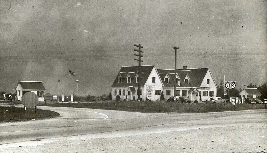 The Beacon Inn Routes 322 And 19 Meadville Pa 1940s