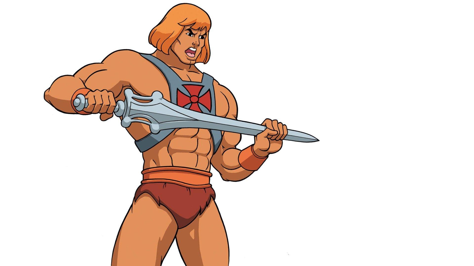 Wall Art Heman Hee Man Desenhos Animados Super Heroi