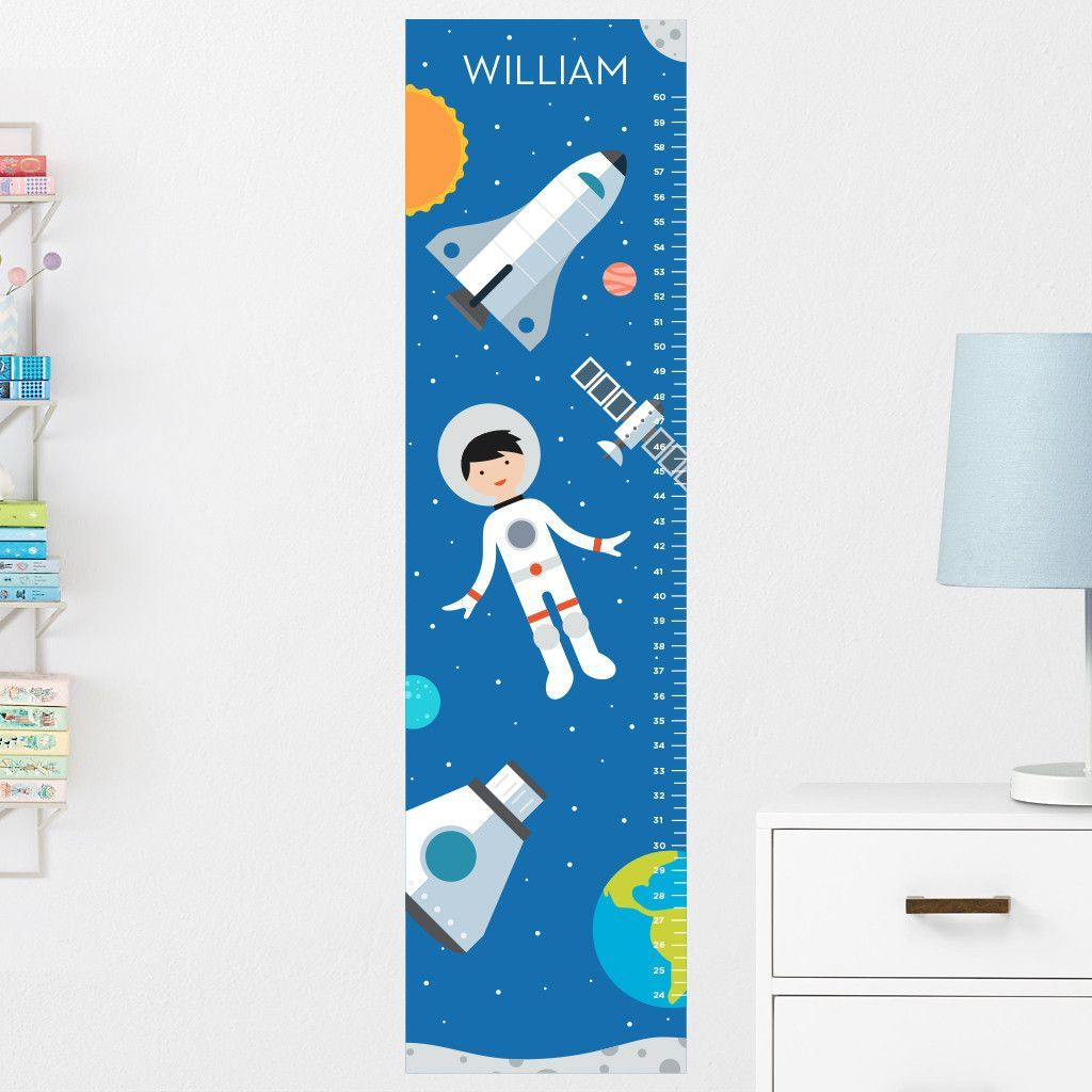 Spaceboy growth chart wall decal personalized growth charts spaceboy growth chart wall decal personalized geenschuldenfo Image collections